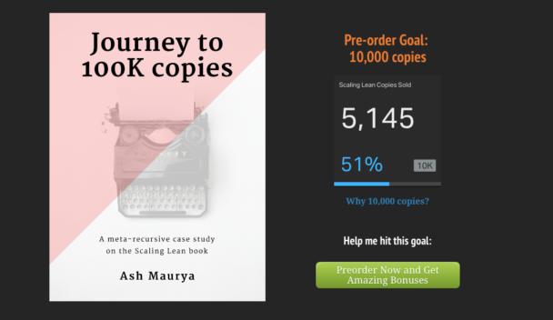 Journey to 100K